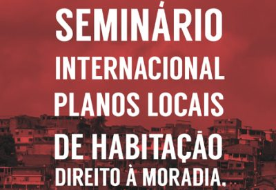 seminaire international plan local habitat